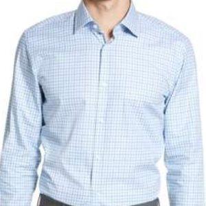 BOSS HUGO BOSS Regular Fit Dress Shirt-Men Size L
